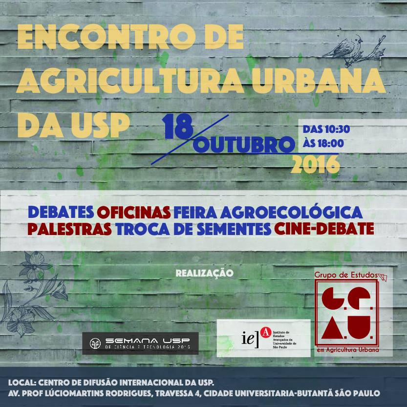 encontro de agricultura urbana da usp