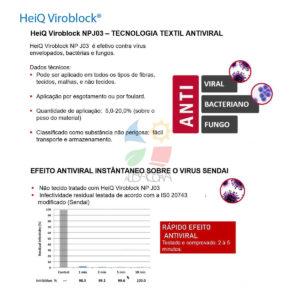 Heiq efeito antiviral